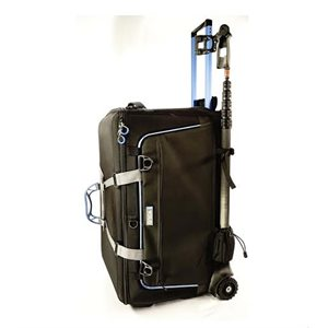 Orca Audio Accessories Bag with Built In Trolley